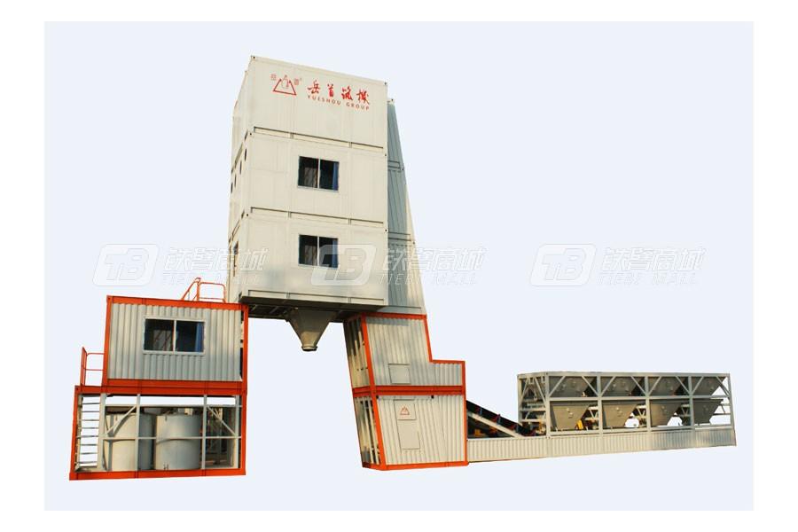 岳首WBJ400强制间歇式稳定土厂拌设备