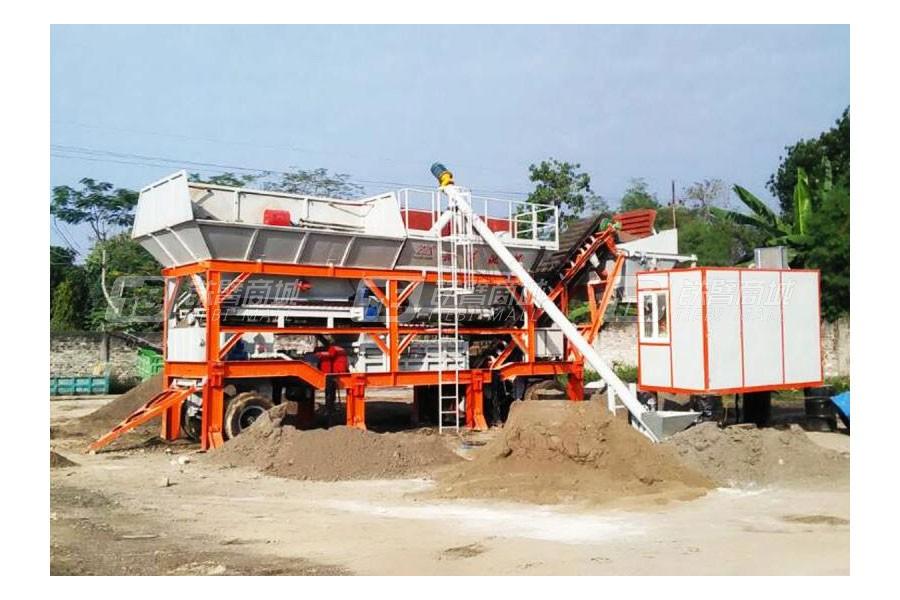 岳首YWB300移动式稳定土厂拌设备