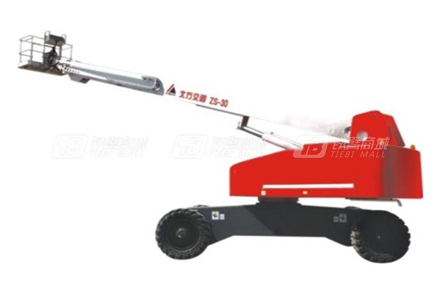 北方交通KFM-ZS30自行式直臂高空作业平台