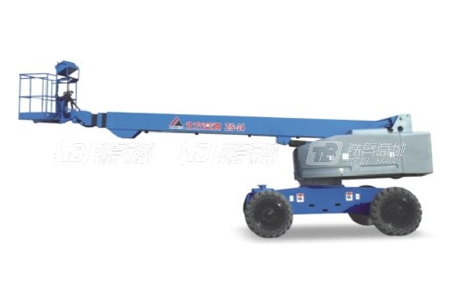 北方交通KFM-ZS24自行式直臂高空作业平台
