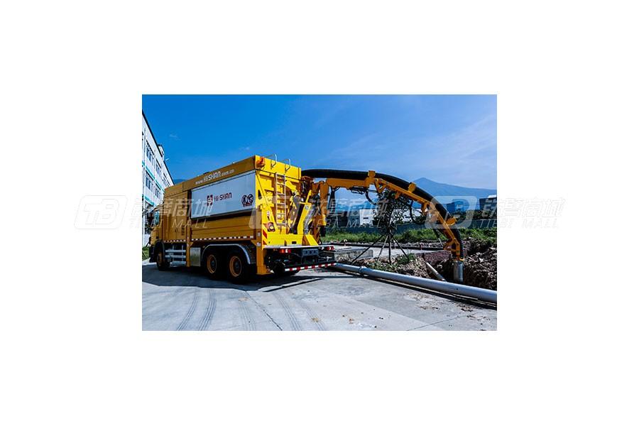 福建海山机械HSSE26/8非破坏挖掘抽吸车