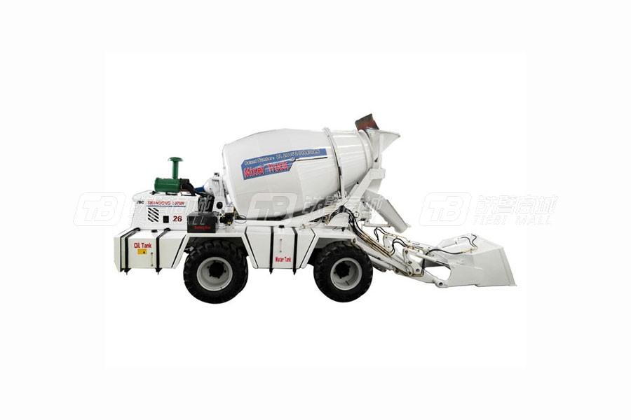 鲁樽机械JBC2.6方自动上料搅拌车