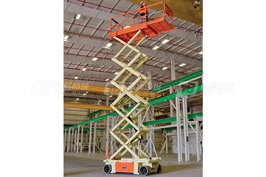 捷尔杰R10电动剪叉式高空作业平台