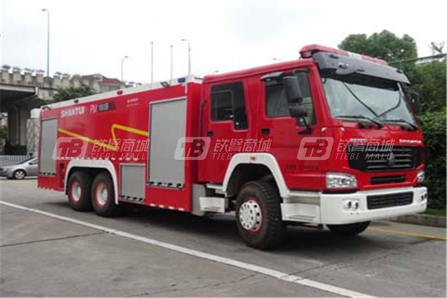 湖北东正FQZ5330GXFPM180/B消防车