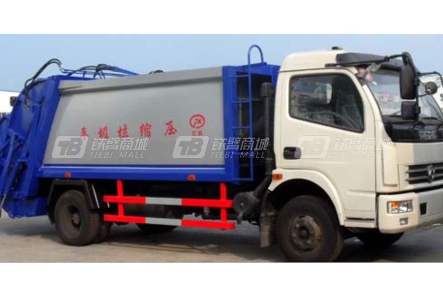 江特东风多利卡3.8米轴距压缩式垃圾车
