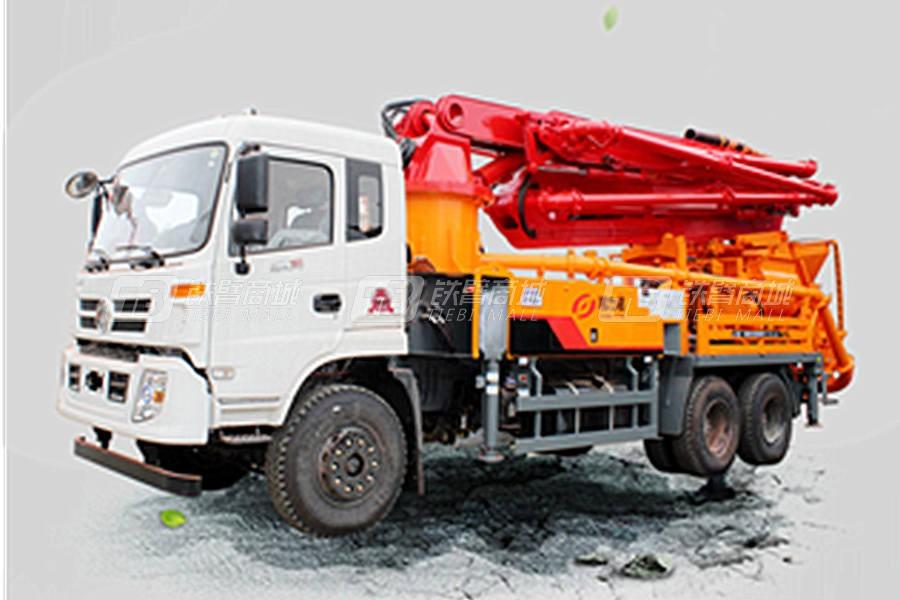 力诺A10-38X混凝土泵车