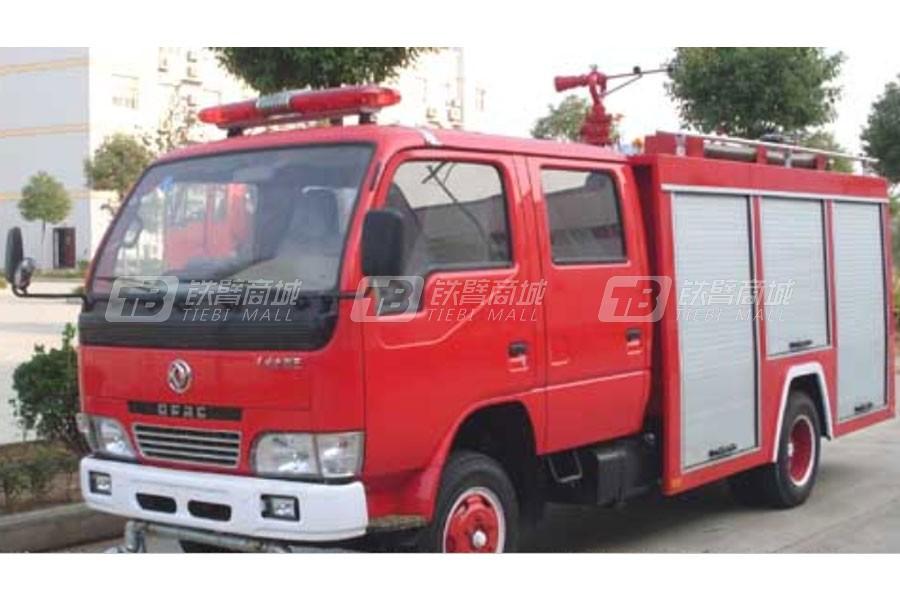 江特东风小霸王2吨水罐消防车