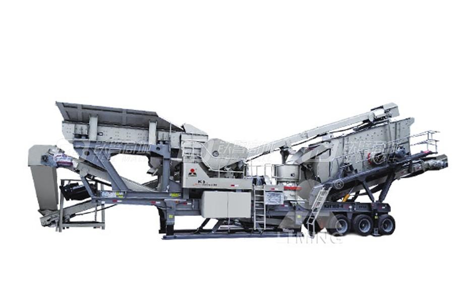 黎明重工K3RW-300T移动破碎站