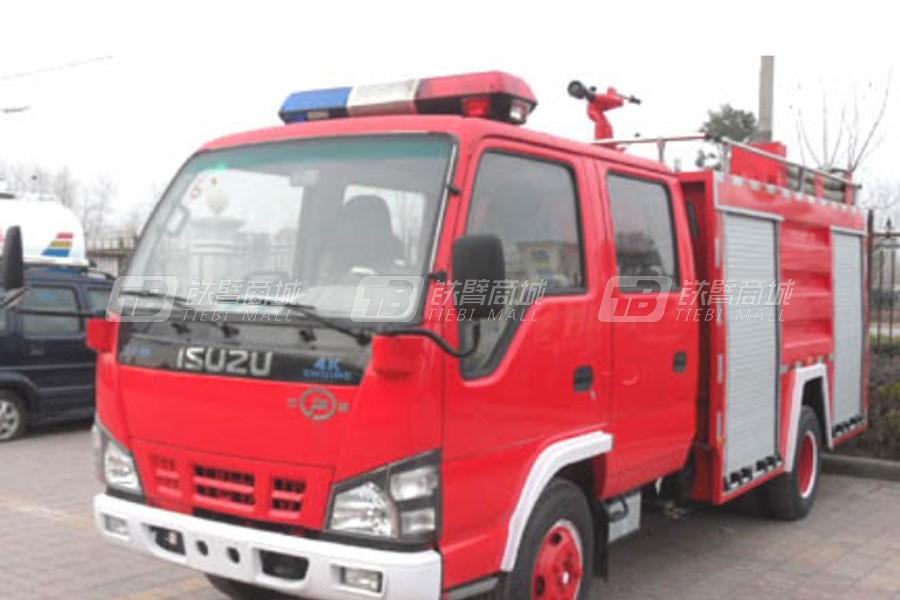 江特五十铃2吨72千瓦水罐消防车
