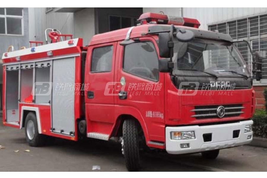江特东风多利卡3.5吨水罐泡沫消防车