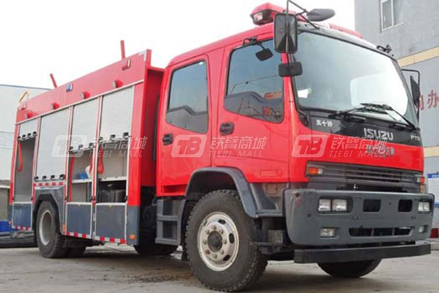 江特五十铃6吨水罐泡沫消防车
