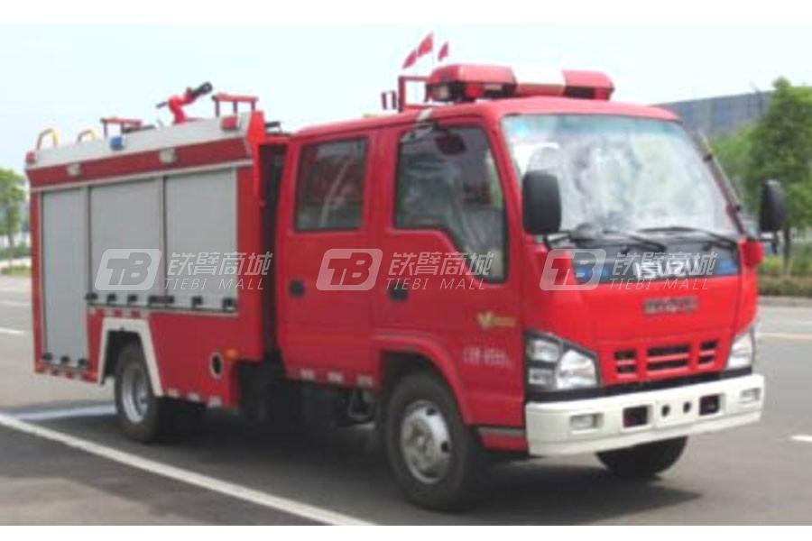 江特五十铃2吨96千瓦水罐消防车