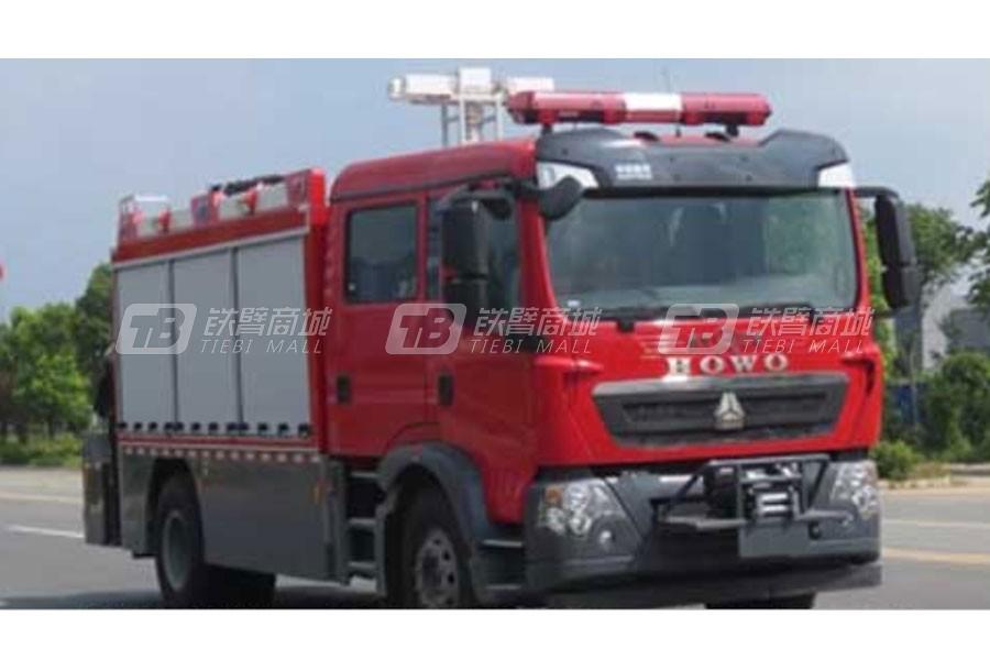 江特重汽T5G抢险救援消防车