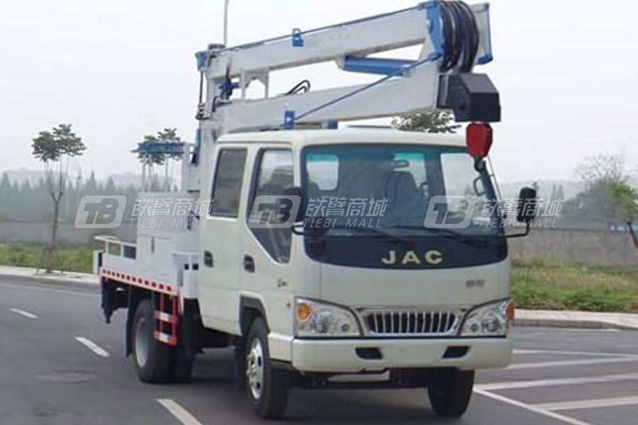 江特JDF5060JGK16HFC5江淮16米高空作业车(国五)