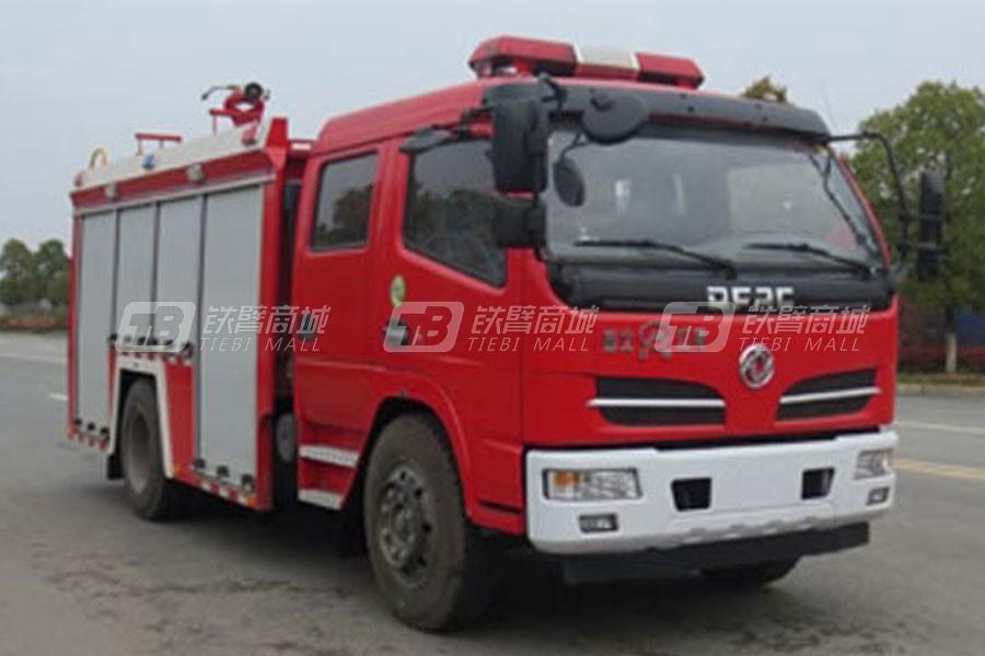 江特东风多利卡3.8吨水罐消防车