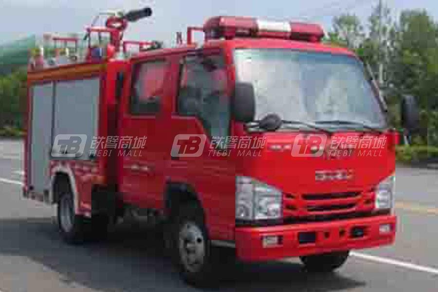 江特庆铃蓝牌1.7吨泡沫消防车