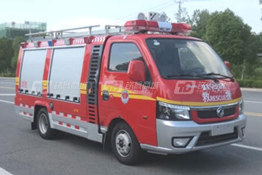 江特东风小型细水雾消防车