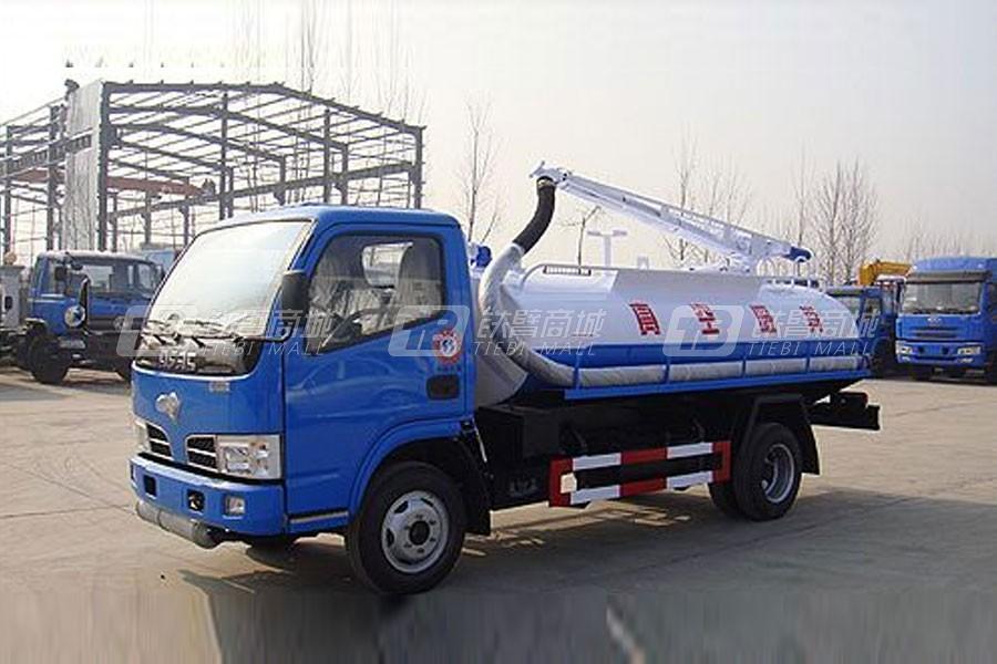 江特EQ1040TJ20D3东风小霸王吸粪车|罐体3-5立方米