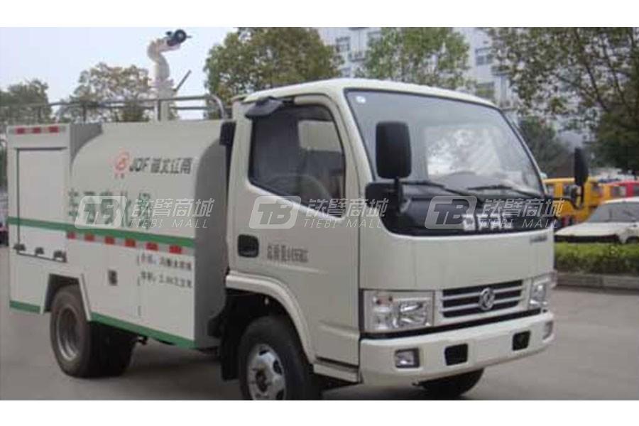 江特东风单排1.71吨带器材箱消防洒水车