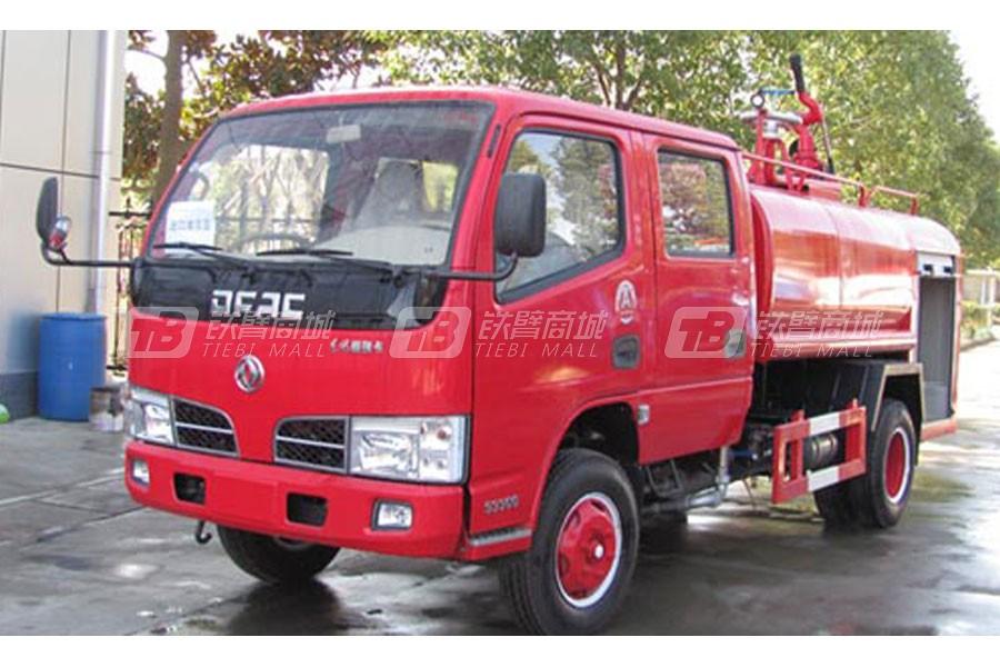 江特东风双排3.28吨消防洒水车