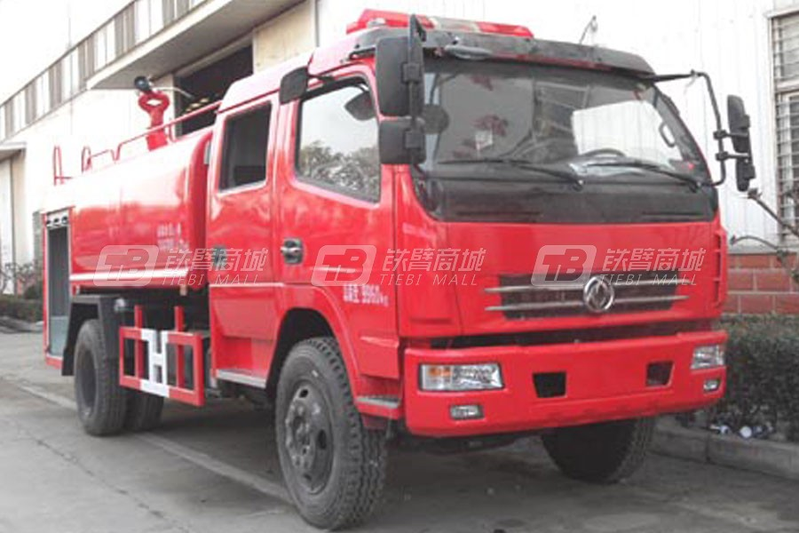 江特东风多利卡双排消防洒水车
