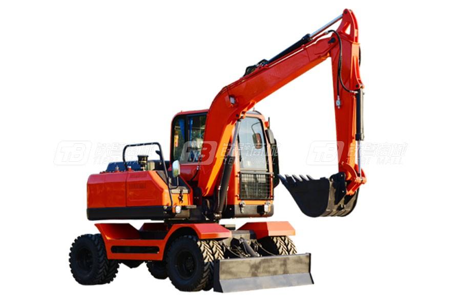 久鼎源JDY80W-9T轮式挖掘机