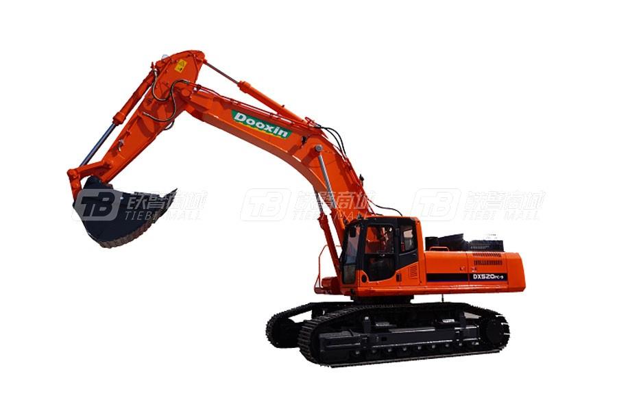 斗鑫DX 520PC-9履带挖掘机