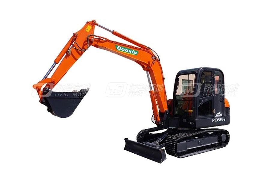 斗鑫DX 65PC-9履带挖掘机