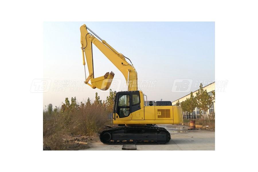 山顿SC220-8大型履带式挖掘机