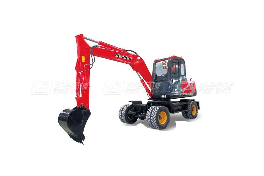 山顿85-9L轮式挖掘机