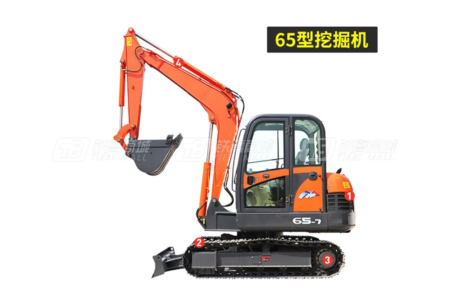 岳工YGW-65履带挖掘机