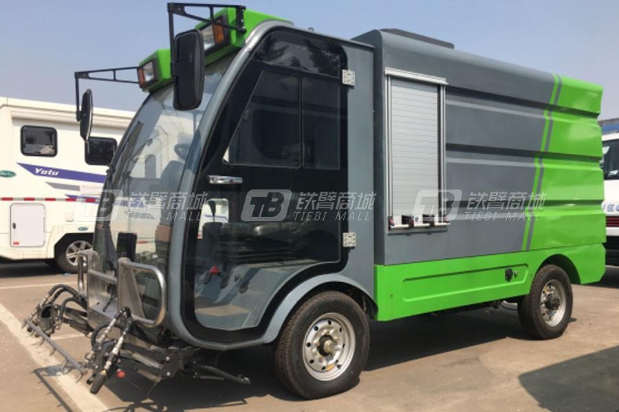 亚特重工TZ1200DQX纯电动高压冲洗车
