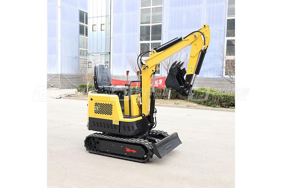 鲁恒HW-10微型挖掘机