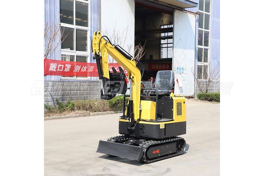 鲁恒HW-13微型挖掘机