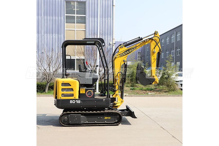 鲁恒HW-18微型挖掘机