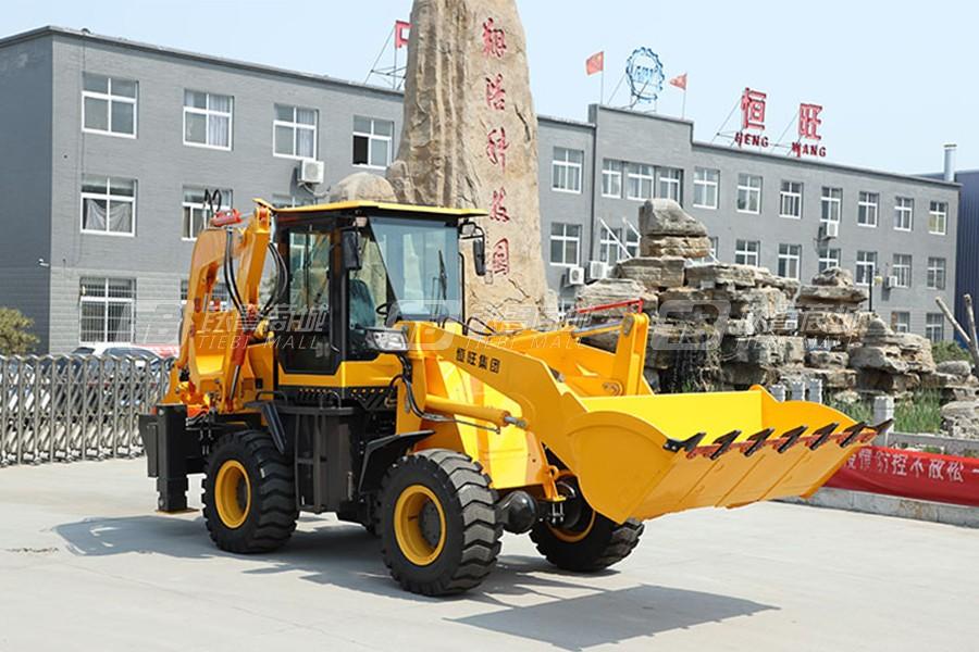 鲁恒HW10-20挖掘装载机