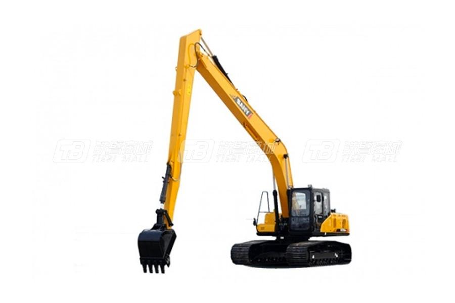 三一SY215C加长臂履带挖掘机(新造型)