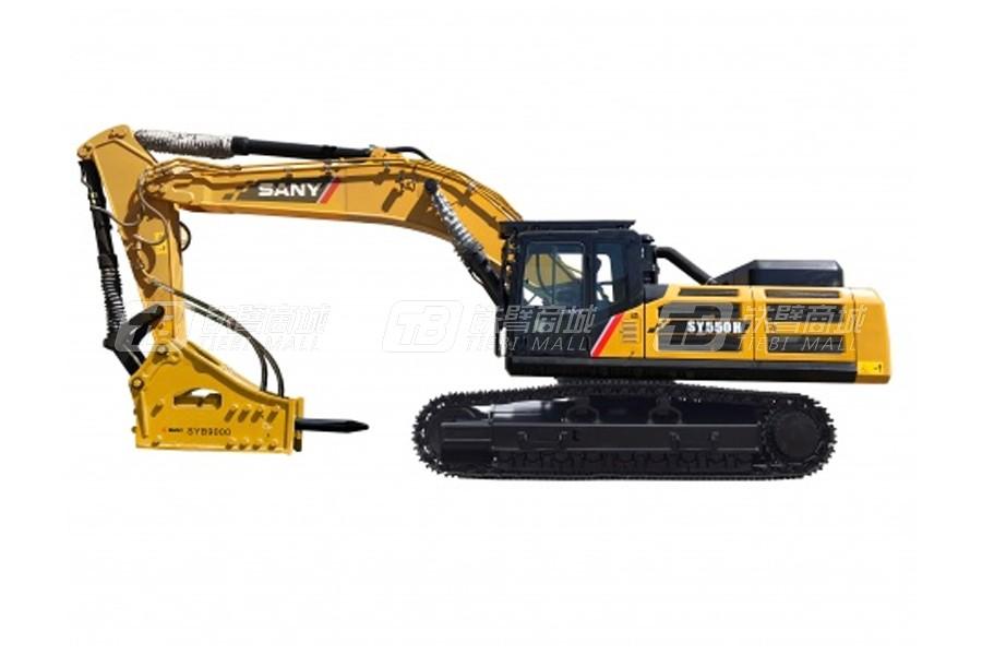 三一SY550H大型挖掘机