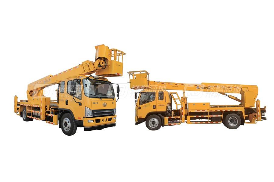 海青汽车一汽28米高空作业车
