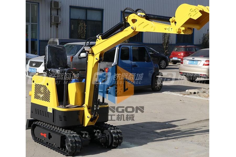 山东翔工XG8015小型农用挖掘机