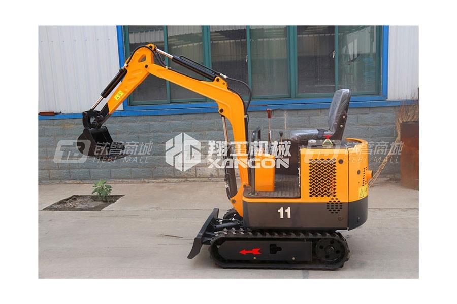 山东翔工XG8011小型履带式液压挖掘机