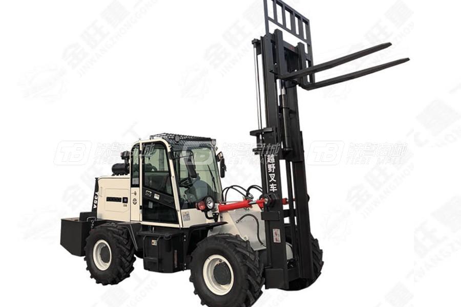 金旺机械JW-3.5T越野叉车(标配)