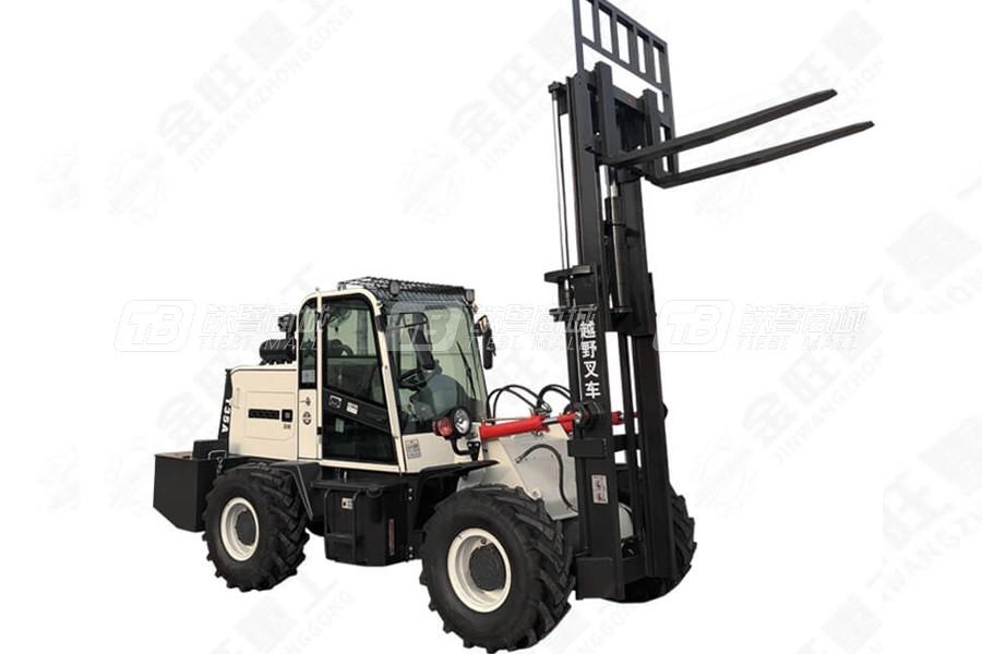 金旺机械JW-3.5T越野叉车(高配)