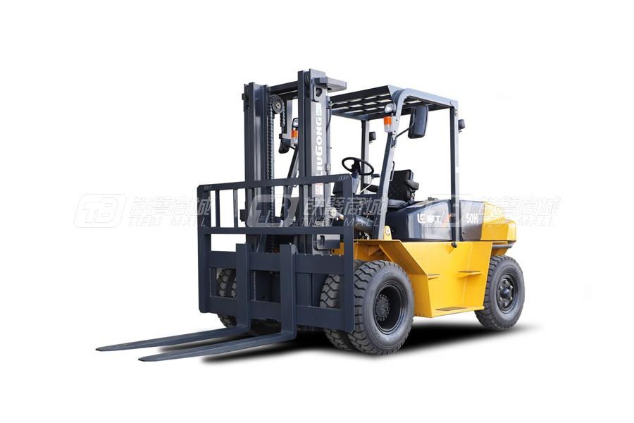 柳工CLG2050H内燃5.0T平衡重式叉车