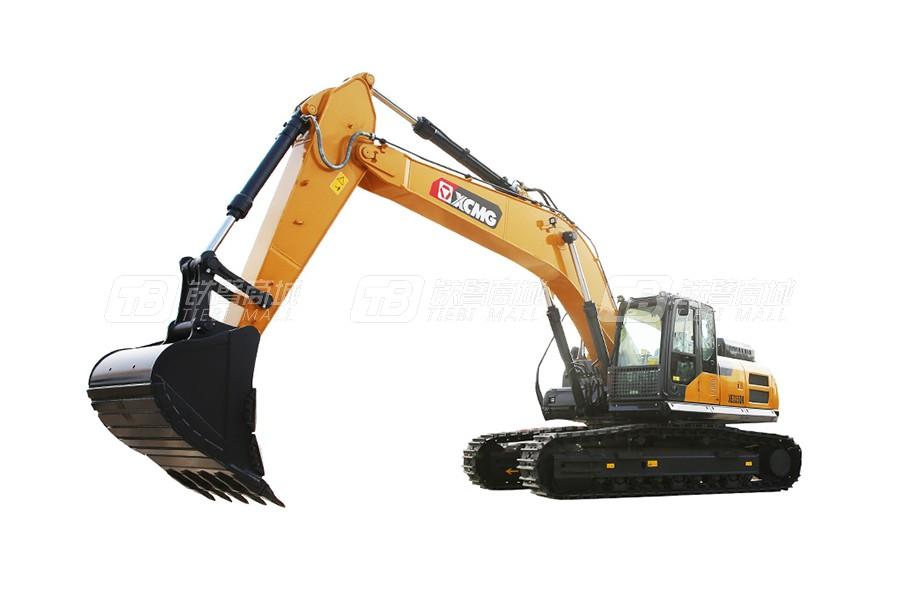 徐工XE335DK大型挖掘机