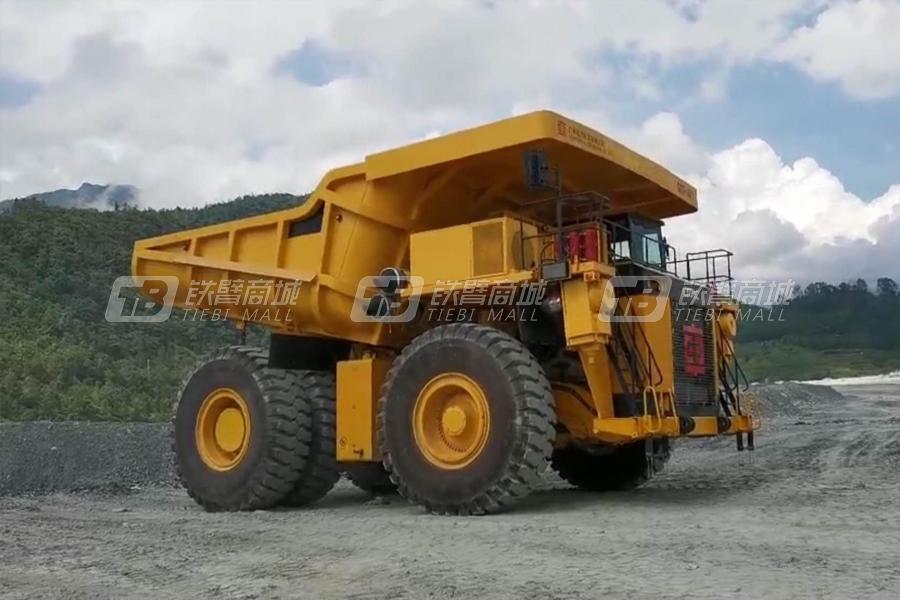 中车SCT-411150吨级铰接式电动传自卸车