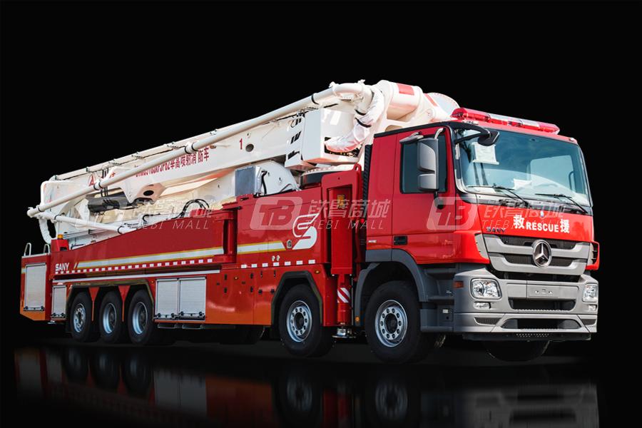 三一SYM5510JXFJP6262米举高喷射消防车