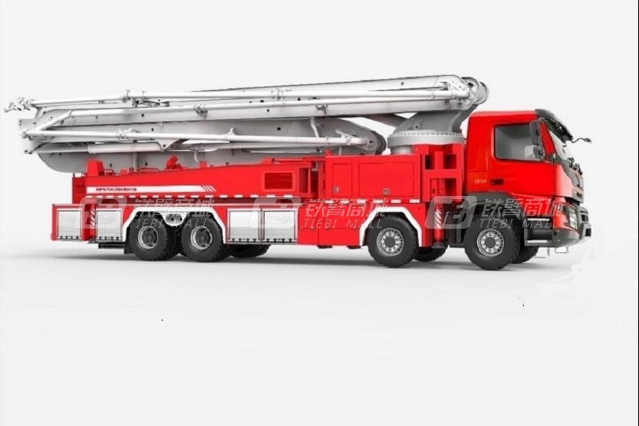 三一SYM5420JXFJP5656米举高喷射消防车