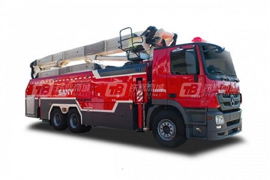 三一SYM5321JXFJP2323米强力破拆消防车