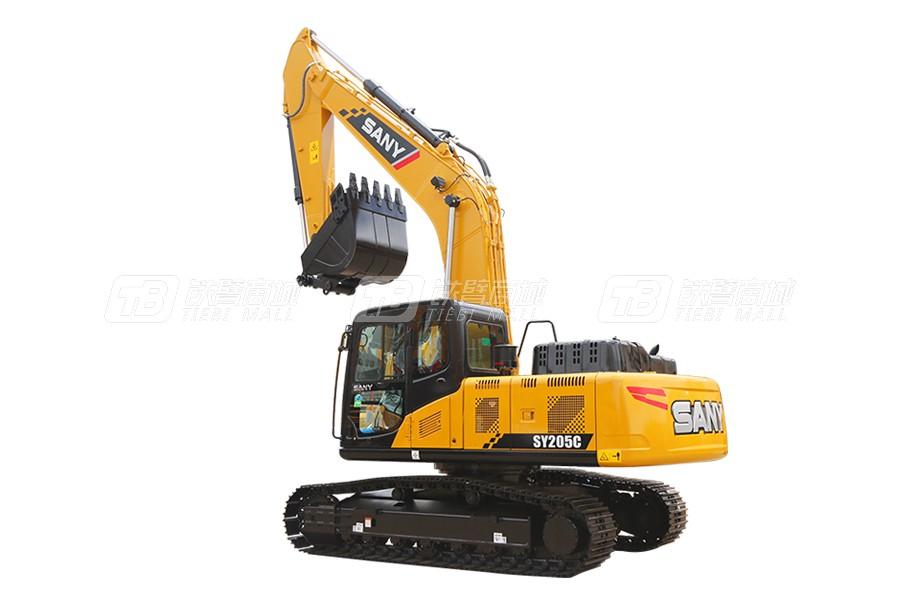 三一SY205DPC中型挖掘机